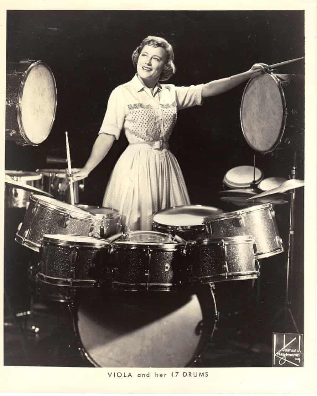 Viola Smith, pioneering swing and big band drummer, dies aged 107.jpeg